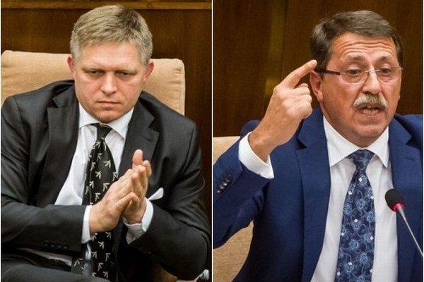 Pavol Paška bol terčom na schôdzi, na ktorej opozícia neúspešne navrhla odvolať premiéra.