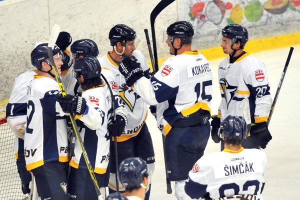 Prešovskí hokejisti mali znovu dôvod na radosť.