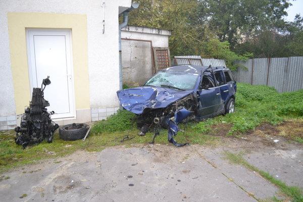 Nedávna nehoda v Kračúnovciach.