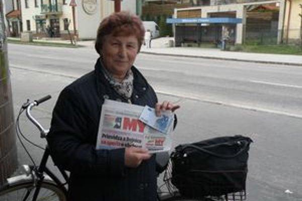 Edita Petruchová v našich novinách nečíta len šport.