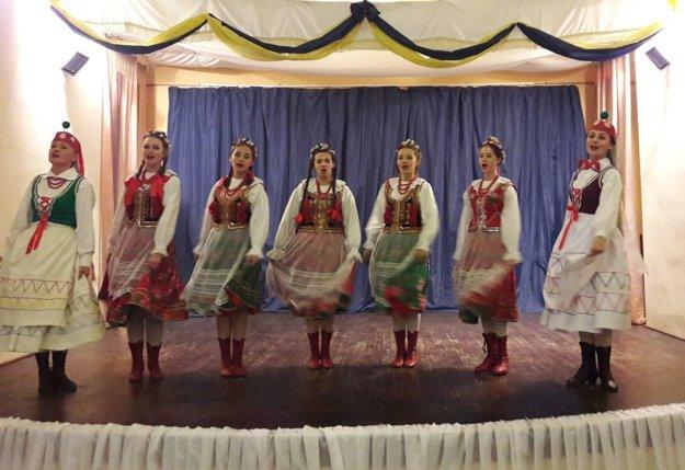 Folklórna skupina Kresy zLubaczówa.
