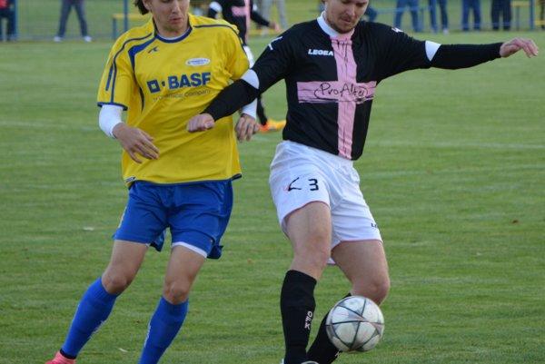 Peter Kurbel strelil Palárikovu po zmene strán dva góly.
