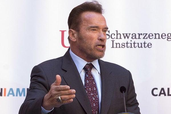 Bývalý kalifornský guvernér Arnold Schwarzenegger.