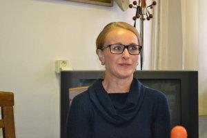 Zuzana Kovalčíková. Vyskúšala si úlohu asistentky réžie.