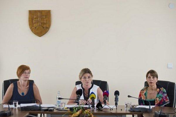 Bystrianska, Poláčková a Javorčíková.