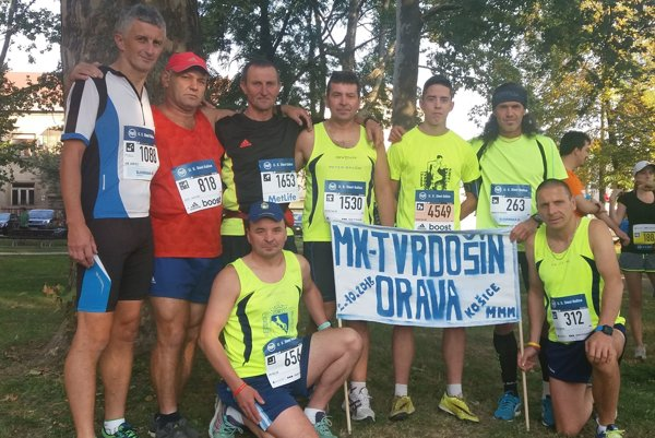 Oravcov na maratóne v Košiciach každým rokom stúpa.