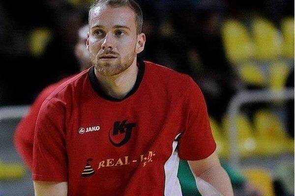 Najlepší strelec Komárňanov v zápase proti Lučencu Matej Marchyn