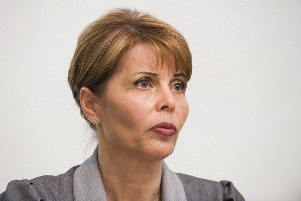 Sudkyňa Katarína Javorčíková.