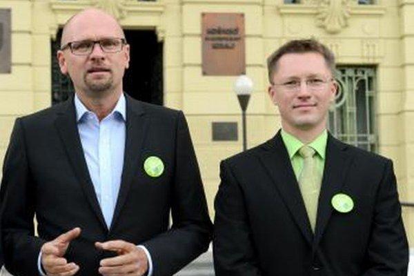 Rastislav Masnyk (vpravo) kandidoval aj na predsedu Košického samosprávneho kraja.