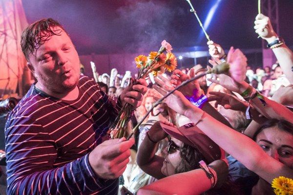 Koncert na tohtoročnom festivale Grape hodnotí Lasky ako jeden z najlepších.
