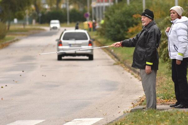 Nevidiaci chodci. Preventívna akcia odhalila nedostatok ohľaduplnosti u miestnych šoférov.