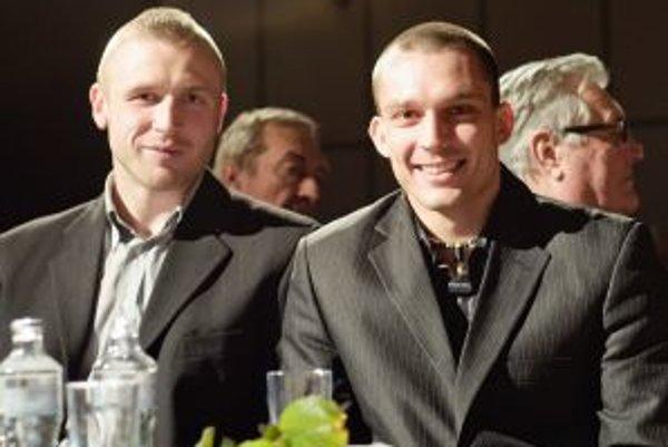 Michal Hromek (vľavo) a Vladimír Idranyi.