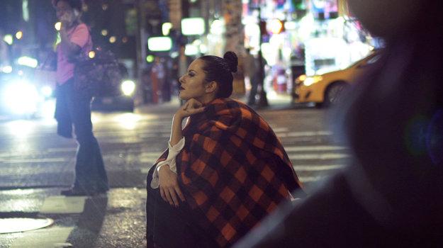 Anonymná návštevníčka. Katka si užila, že ju na ulici nikto nespoznával.