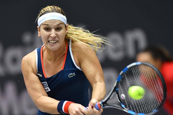 Dominika Cibulková má stále šancu postúpiť zo skupiny.