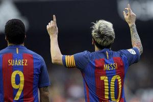Suárez s Messim zariadili víťazstvo Barcelony.