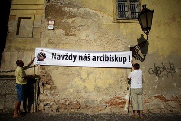 Mnoho veriacich z Trnavskej arcidiecézy podporuje Bezáka.