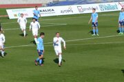 Ladislav Szöcs sa teší z úvodného zásahu v zápase MFK Skalica - FC Nitra (4:2).