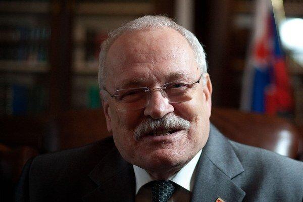 Prezident Ivan Gašparovič hodnotil rok 2013.