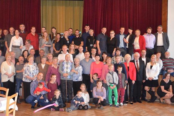Stretnutia sa zúčastnilo 69 potomkov