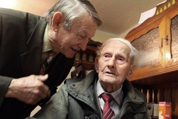 Syn Jozef Daniška má osemdesiat rokov, jeho otec Jozef už 104.