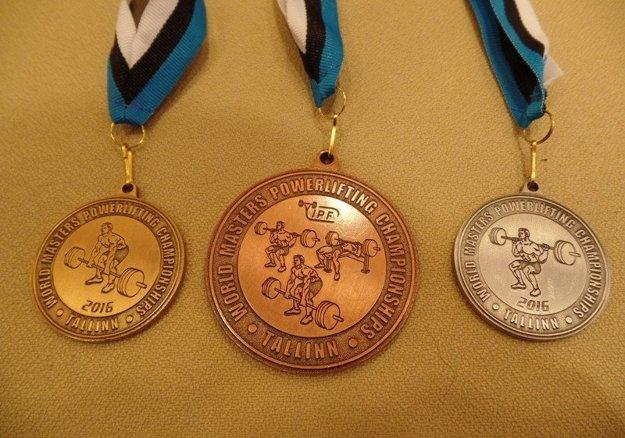 Slížova medailová kolekcia z Tallinu.