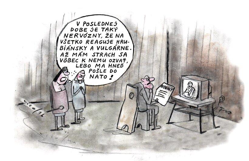 Choď do NATO (kreslí Vico) 26. október