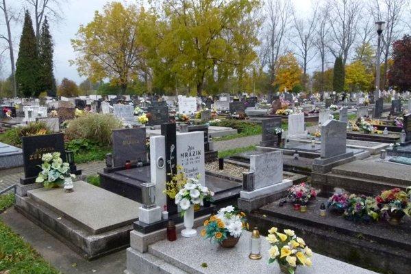 Sklabinský cintorín vMartine.