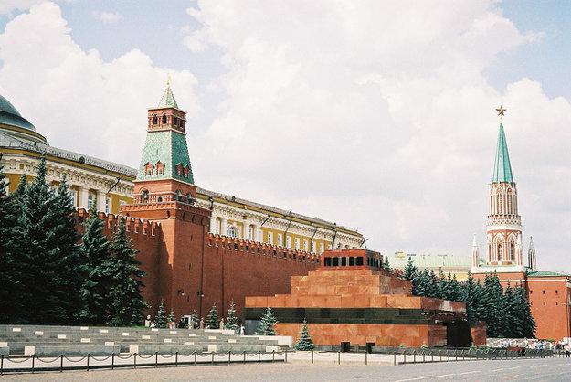 Mauzóleum V.I.Lenina.