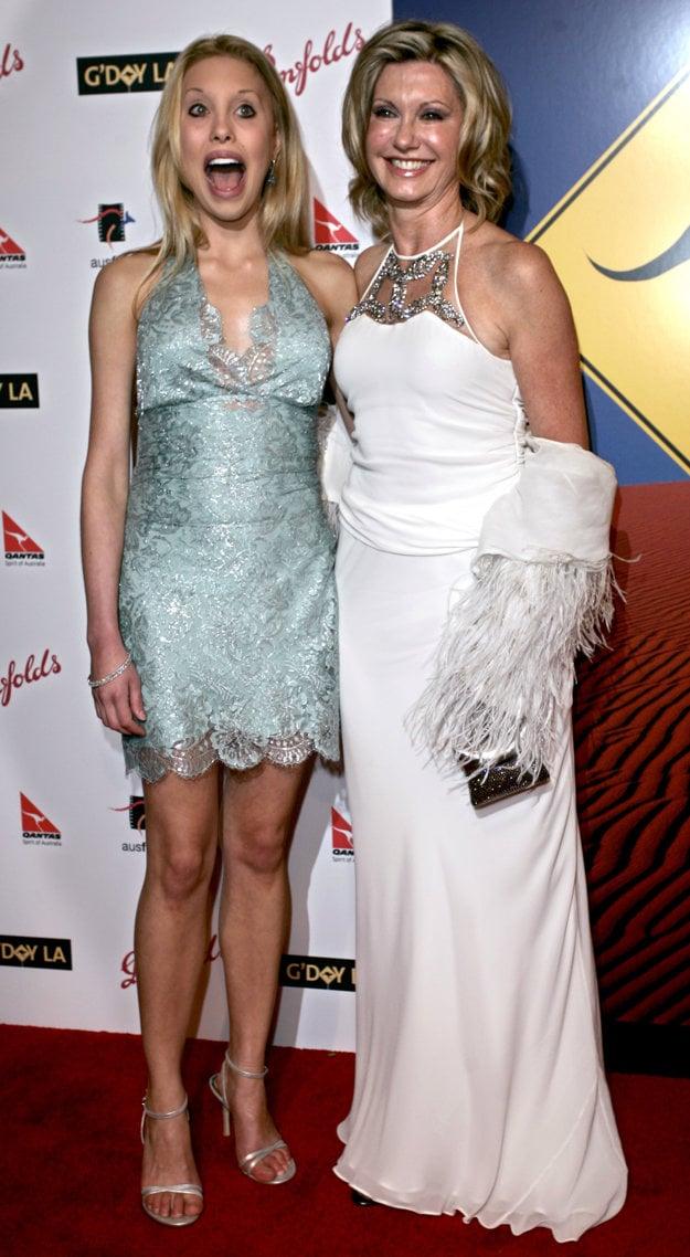 V roku 2006 s dcérou Chloe
