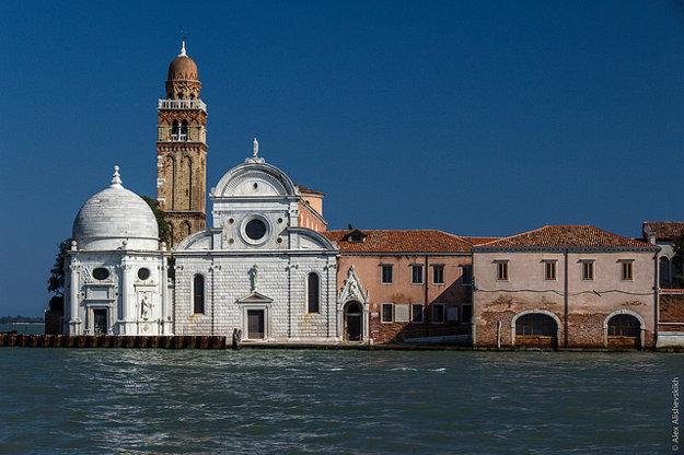 Ostrov mŕtvych San Michele.