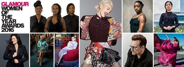 Všetky ocenené osobnosti magazínu Glamour.