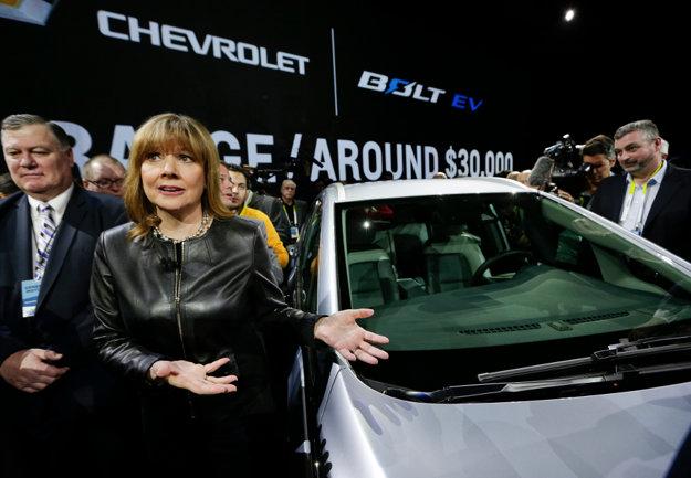 Mary Barra, generálna riaditeľka General Motors
