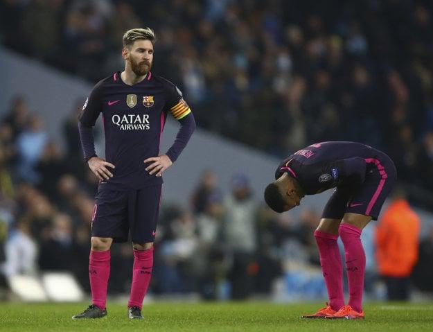 Lionel Messi bol po prehre poriadne rozladený.