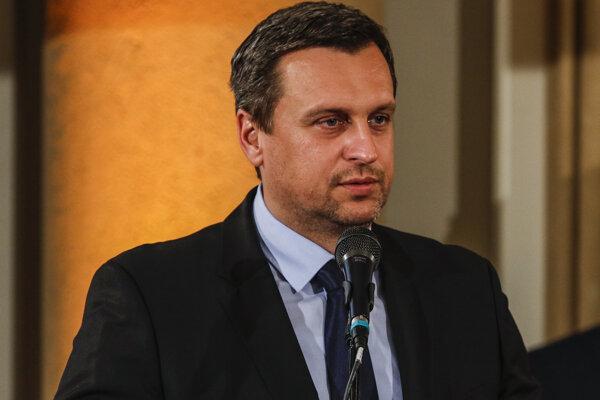 Predseda parlamentu SR Andrej Danko.