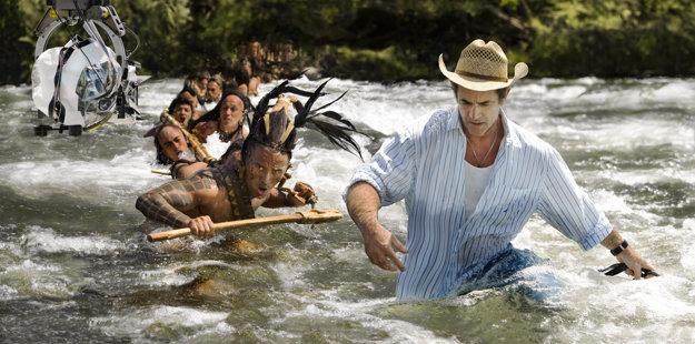 Pri natáčaní filmu Apocalypto