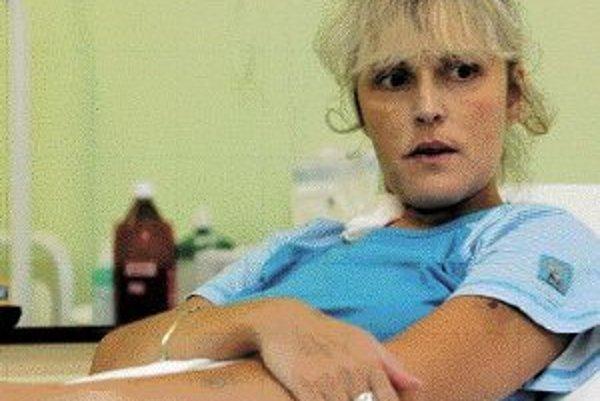 Zuzane Ivaškovej bije už tri týždne v hrudi nové srdce. FOTO SME - PETER ŽÁKOVIČ