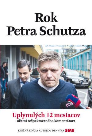 Denník SME s knihou Rok Petra Schutza len za 2,99 € už v utorok 15.11. vo vašich stánkoch.