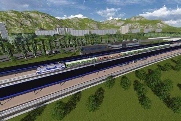 Nová železničná stanica bude pri areáli vodného slalomu.