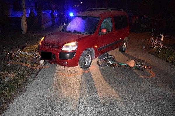 Nehoda v Leopoldove.