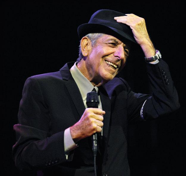 Leonard Cohen vystupoval aj krátko pred smrťou.