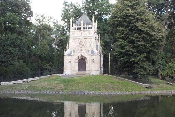 Historický park vTrebišove.