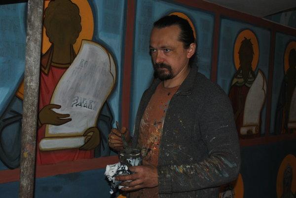 Ikonopisec Miroslaw Trochanowski. Písanie ikon nemôže byť náboženskou archeológiou.