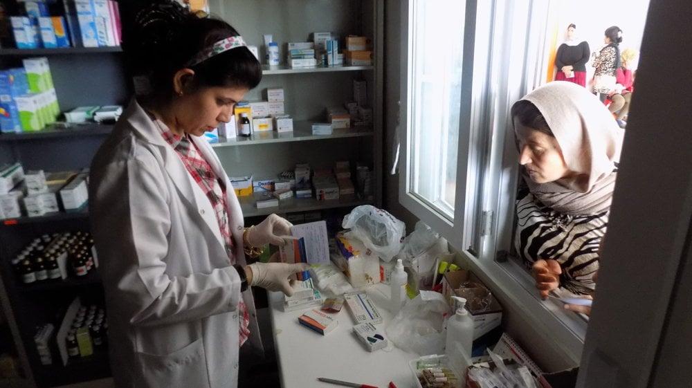 Zahra je rada, že aj na úteku môže pokračovať v praxi farmaceutky.