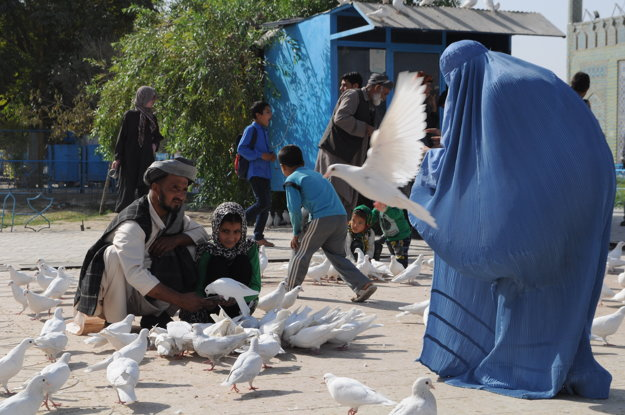 Mazar e Sharif, Afganistan.