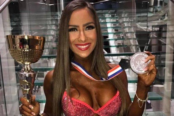 Timča tesne po súťaži s pohárom a striebornou medailou.