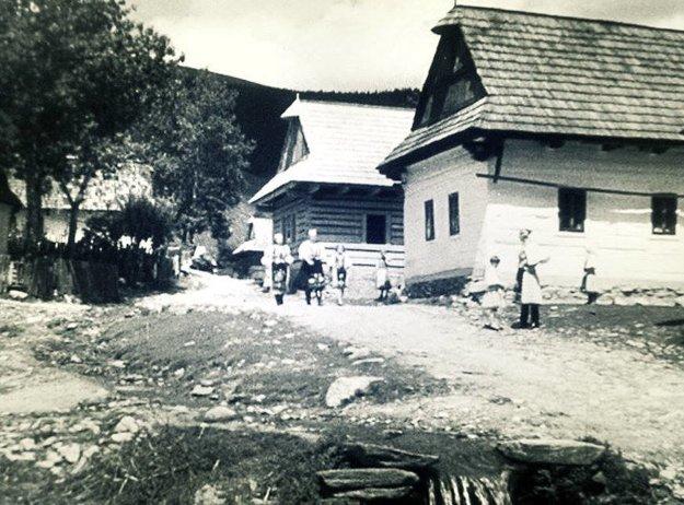 Šumiac - rok 1938.