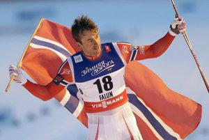 Petter Northug - archívna fotografia.