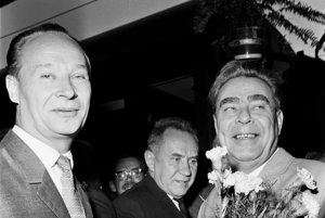 """Neodhadol Dubček svojho sovietskeho """"priateľa"""" Brežneva? Napriek úsmevom na tvári sa už pripravovala invázia."""