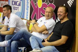 Zdá sa, že spor medzi Danielom Jendrichovským (vpravo) a Marošom Kováčikom.