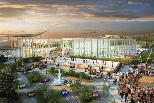 Ako najväčší projekt na Slovensku sa v roku 2014 očakáva otvorenie nákupného centra Bory Mall s rozlohou 55 000 štvorcových metrov.